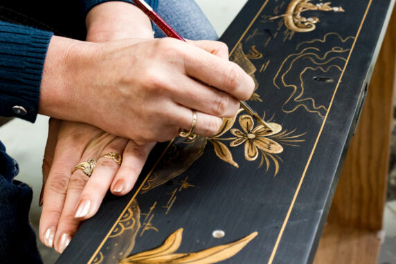 karges hand painted decoration furniture