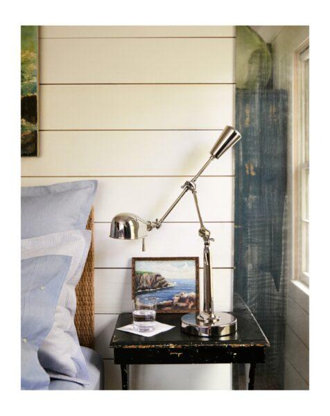 visual comfort boom arm desk lamp