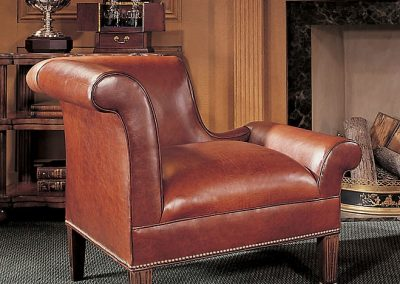 Century Leather Chair