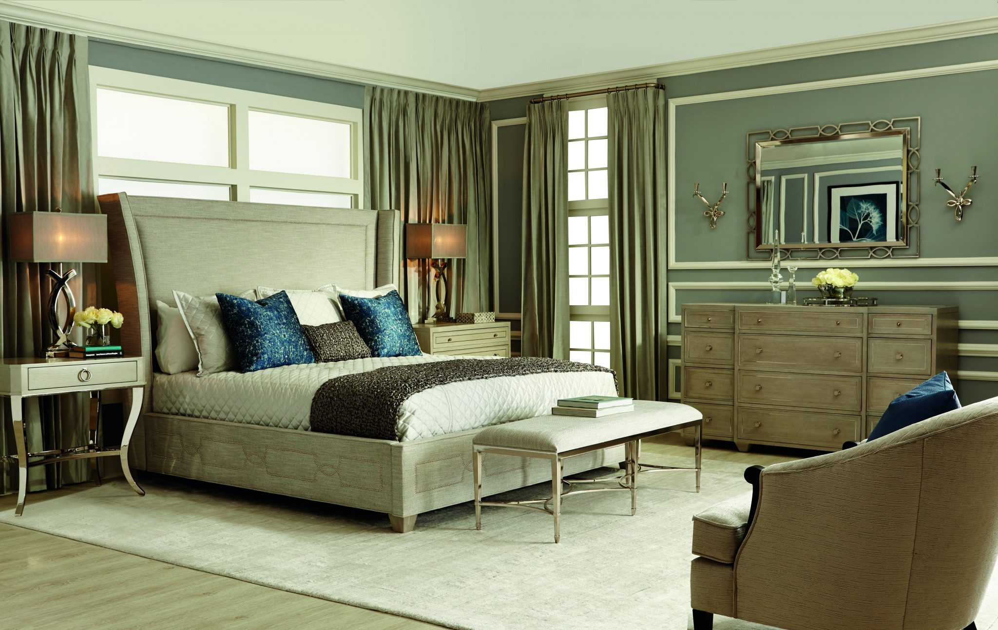 Bedroom Furniture and Decor - Cabot House