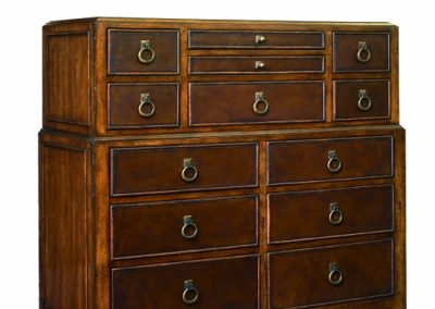 Schnadig Leather Drawer Chest