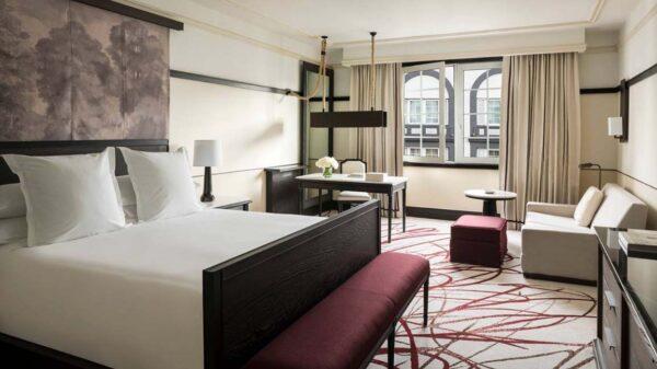 taracea bedroom four seasons hotel