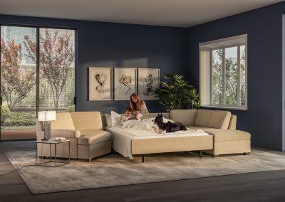 American Leather - Gaines Comfort Sleeper