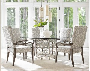lexington laurel canyon dining room chair and table set