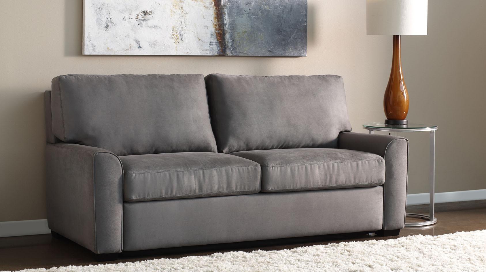 American leather luxe sofa american leather adalyn comfort sleeper