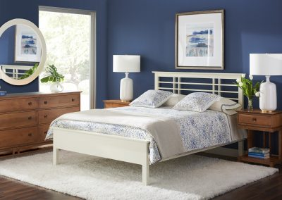 Gat Creek - Evelyn Bed White