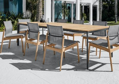 Gloster - Carver with Sway Chairs