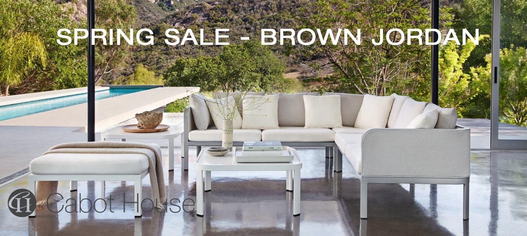 Spring Sale 2020 BROWN JORDAN