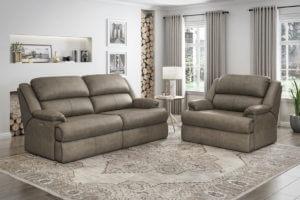 Omnia Nicholas recliner sofa leather living room