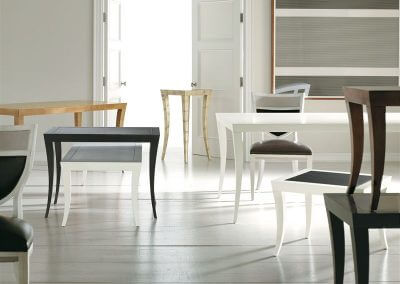 hickory chair milo m2m dininggame table