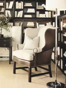 hickory townsend wing chair