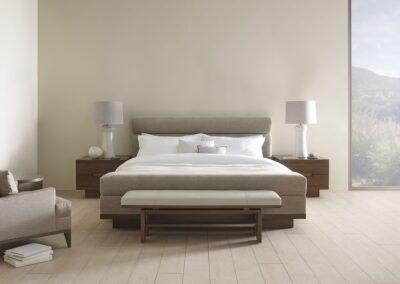 baker barbara barry bedroom minimalist lamps neutral